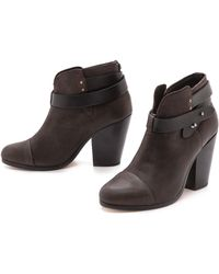 Rag & Bone Harrow Boots Stone - Lyst