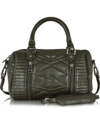 Zadig & Voltaire Xs Sunny Mat Matelasse Leather Satchel W/Shoulder Strap - Lyst