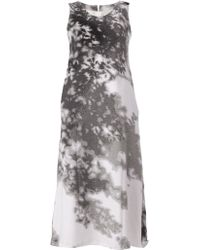 ANREALAGE - Printed Dress - Lyst