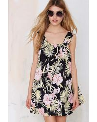 Nasty Gal For Love & Lemons Pacific Floral Dress - Lyst