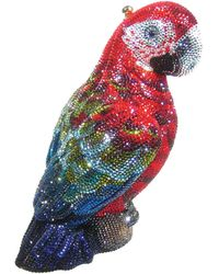 Judith Leiber Couture Paolo Crystal Parrot Minaudiere - Lyst