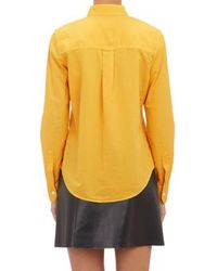 Band Of Outsiders Yellow Easy Shirt - Lyst