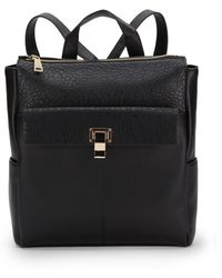 Saks Fifth Avenue - Faux Leather Zip-Top Backpack - Lyst