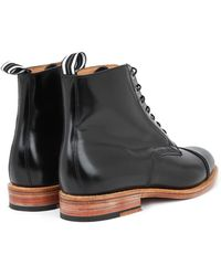 Oliver Spencer | Leather Oxford Boots | Lyst