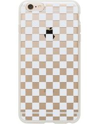Equipment Garance Doré Clear Checkers Iphone 6 Plus Case - Natural