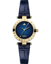 Vivienne Westwood Vv092nvnv Time Machine Stainless Steel and Leather Watch - Lyst