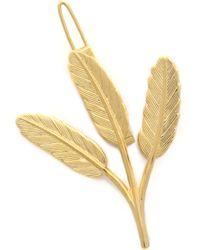 Dauphines of New York - Golden Fields Barrette - Lyst