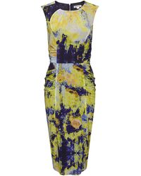 Whistles Bodega Print Eva Bodycon Dress multicolor - Lyst