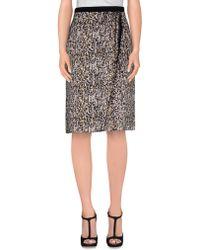 Dolce & Gabbana | Knee Length Skirt | Lyst