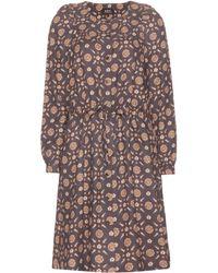 A.P.C. Riviera Printed Dress - Lyst