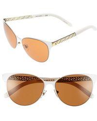 Tory Burch | 55mm Cat Eye Sunglasses | Lyst