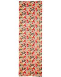Cath Kidston - Autumn Bloom Lurex Wool Shawl - Lyst