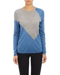Derek Lam Colorblock Pullover Sweater - Lyst
