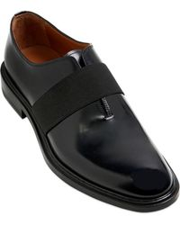 Givenchy Brushed Leather Oxford Shoes - Lyst