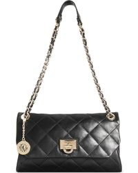 DKNY Gansevoort Quilted Envelope Clutch With Chain - Lyst