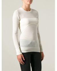Iro White Madoel Sweater - Lyst
