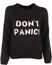 Marc By Marc Jacobs Black Don'T Panic Sweater black - Lyst