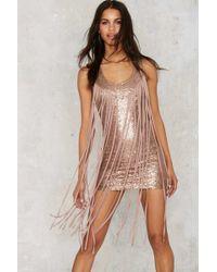 Nasty Gal | Ovation Sequin Mini Dress | Lyst