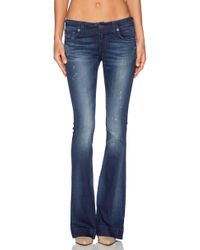 True Religion Blue Charlize Flare - Lyst