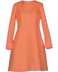 Ter Et Bantine Short Dress - Lyst