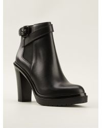 Sergio Rossi Montreal Boots - Lyst