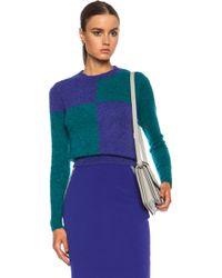 Roksanda Ilincic Burnham Wool Blend Sweater - Lyst