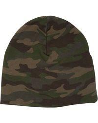 Hydrogen - Camouflage Cotton Beanie Hat - Lyst