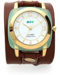 La Mer Collections - Chrysoprase Wrap Watch - Lyst