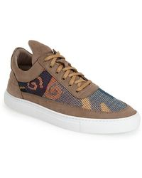 Filling Pieces Low-Top Suede Sneakers - Lyst