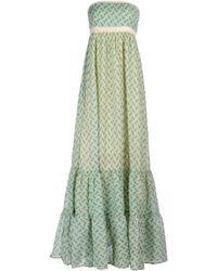 Scee By Twin-set Long Dress - Lyst