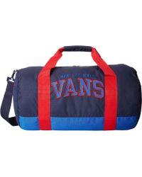 Vans Anacapa Duffle blue - Lyst