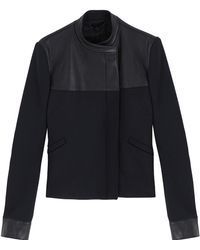 The Row Sheller Leather Jacket - Lyst