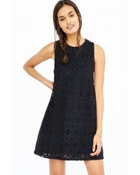 Kimchi Blue Crochet Lace Trapeze Dress - Lyst