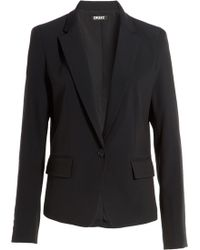 DKNY Tailored Blazer - Lyst