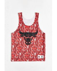 Mitchell & Ness Reversible Mesh Tank Top - Lyst