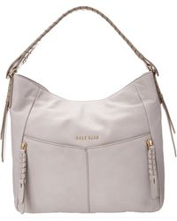 Cole Haan Purple Felicity Hobo - Lyst