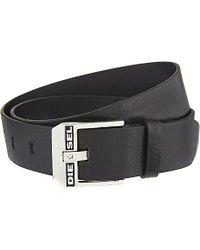 Diesel Bluestar Leather Belt - For Men - Lyst