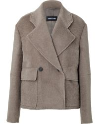Damir Doma Wool-lama Double-breasted Jacket - Lyst