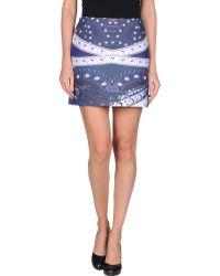 Mary Katrantzou Mini Skirt - Lyst
