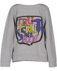 Tru Trussardi Sweatshirt - Gray