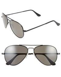 Randolph Engineering - 'concorde' 57mm Polarized Aviator Sunglasses - Lyst