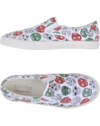 Bucketfeet   white Low-tops & Trainers   Lyst