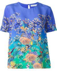 Mary Katrantzou 'Evabar' T-Shirt - Lyst
