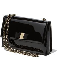 Ferragamo Medium Vara Flap Bag - Lyst