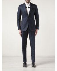 Moschino - Diamond Print Suit - Lyst
