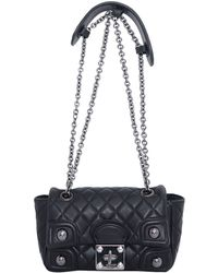 RED Valentino Leather Matelassé Bag With Studs - Lyst