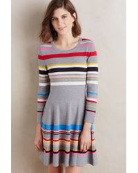 Moth - Scooped Sweater Dress - Lyst