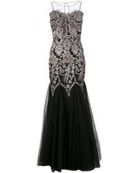 Badgley Mischka Caviar Sequined Dress - Lyst