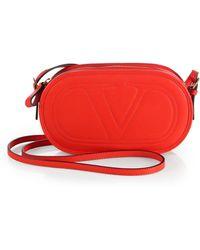 Valentino Logo Go Crossbody Bag - Lyst
