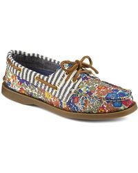 Sperry Top-Sider Boat Shoe Flats - Authentic Original Liberty - Lyst